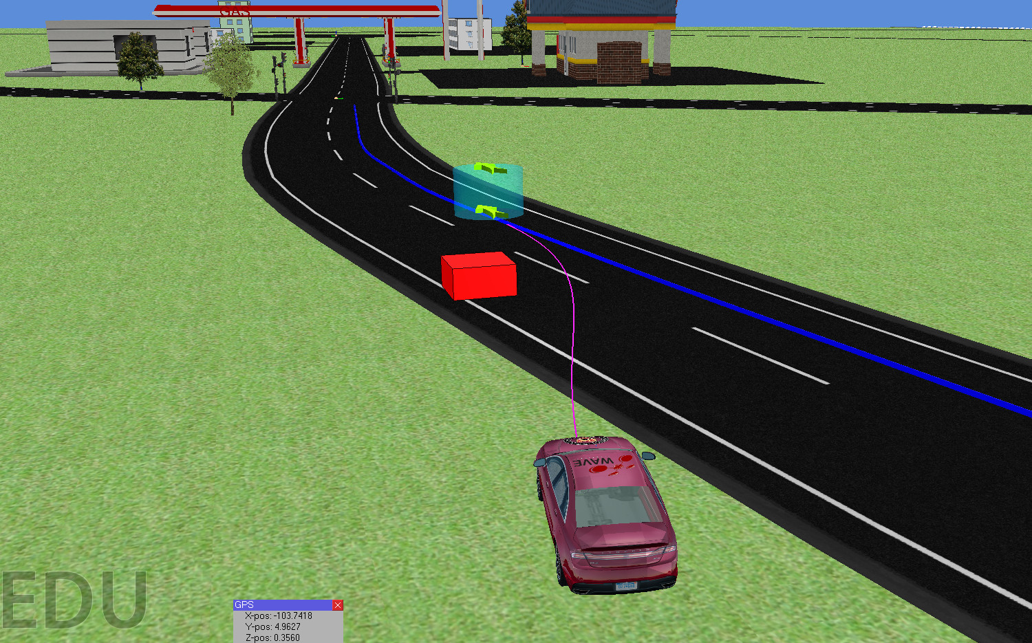 Motion Planning for Autonomous Driving